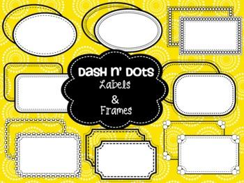 Dash N' Dots {Borders & Frames}