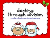 Dashing Through Division-  Engaging Christmas Math Centers