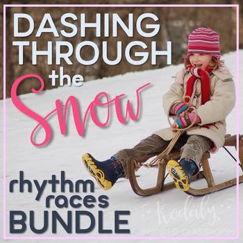Rhythm Games for Winter - Dashing Through the Snow Rhythm