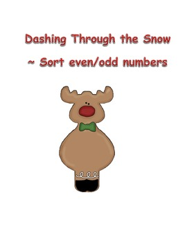 Dashing Through the Snow ~ Sort even/odd numbers~