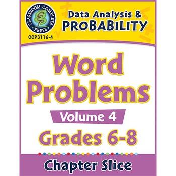 Data Analysis & Probability - Task Sheets Vol. 4 Gr. 6-8