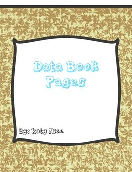Data Book Graphing Pages