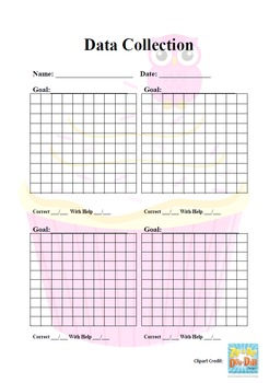 Data Collection Form - Cupcake
