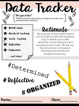 Data Collection, Goal Setting, and Reflection for Secondar