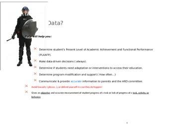 Data Collection. Paraprofessional. Documentation Training