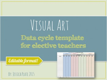 Data Cycle Template for Elective Teachers