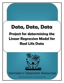 Data, Data, Data: A Project for Finding the Linear Regress
