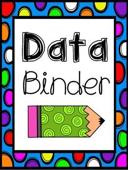Data, Homework, Parent Contact Binders {{Freebie}}