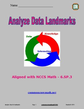Data Landmark Analysis - 6.SP.3