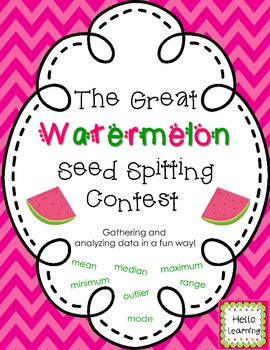 Data Landmarks- Watermelon Seed Spitting Contest
