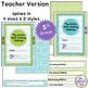 Data Notebook Cover Set * 5th Grade Data Cover Set * Edita