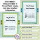 Data Notebook Covers Set for Teachers & Students for 4th G