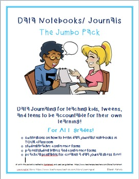 Data Notebooks/ Journal JUMBO pack