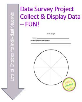 Data Survey and Display Project - Fun While Learning!  Dif