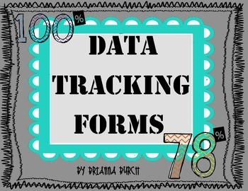 Data Tracking Forms