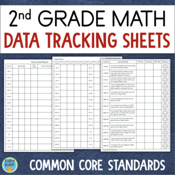 Data Tracking Grade 2 Math