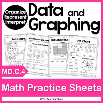 Data and Graphing Practice Sheets MD.C.4