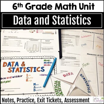 Data and Statistics Unit for Grade 6