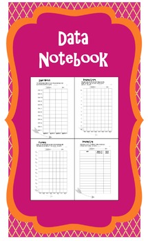 Data notebook packet with goal setting pages