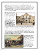 David Crockett and the Alamo Informational Text and Activity