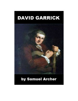 David Garrick - Shakespeare Actor