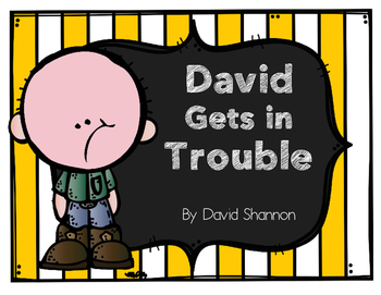 David Gets in Trouble Story Pack
