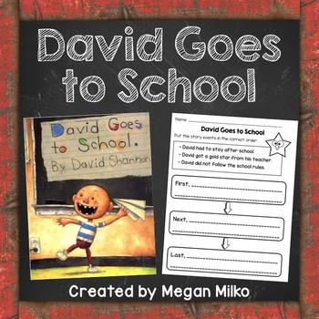 David Goes to School activities