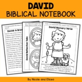 David and Goliath Interacitve Notebook Bible Unit