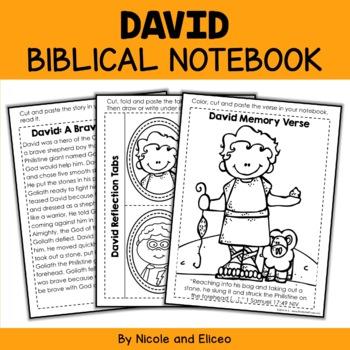 David Interactive Notebook Bible Unit