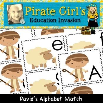 David's Alphabet Match
