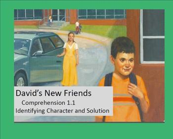 David's New Friends Comprehension Strategies