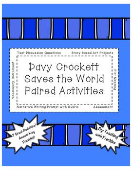 Davy Crockett Saves the World Paired Activities