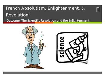 Scientific Revolution and Enlightenment Notes - Lesson Handout