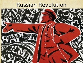 Russian Revolution and Lenin - PowerPoint