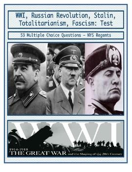 Day 103_World War I, Russian Revolution, Rise of Fascism,