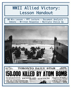 Day 107_World War II: Allied Victory & Atomic Bomb - Lesso