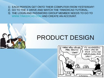 Day 2- 3-D Printer Design Process Project