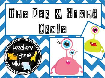 Day and Night Cycle PowerPoint and Notes Sheet