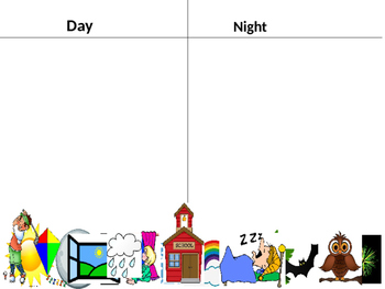Day and Night Interactive Sort
