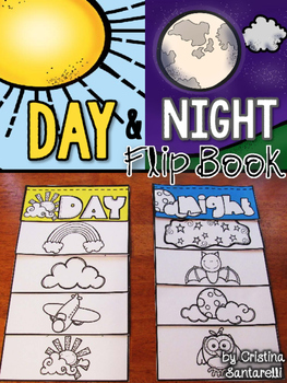Day and Night Sky flip book
