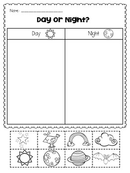 Seasons Worksheet likewise Match Opposite Pictures together with Winter Animal Books in addition Bee Handband moreover Original. on day night worksheets preschool