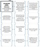 Day and Night and Seasons Vocabulary Review FLIP Cards