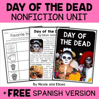 Nonfiction Day of the Dead Unit Activities