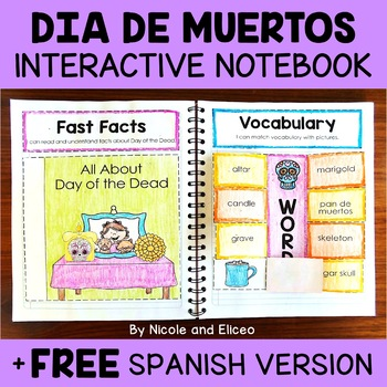 Day of the Dead Activities Interactive Notebook