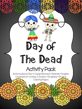Day of the Dead Activity Pack { ENGLISH }