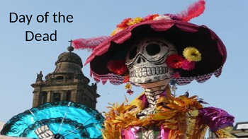 Day of the Dead - Dia de Muertos Power Point history facts