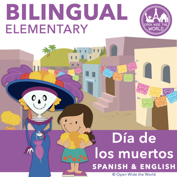 Day of the Dead Dia de los Muertos BILINGUAL Activity Pack by Open Wide the World
