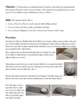 Day of the Dead (Dia de los Muertos) Clay Project