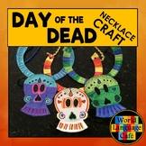 Day of the Dead, Día de los Muertos Craft, Skull Necklace