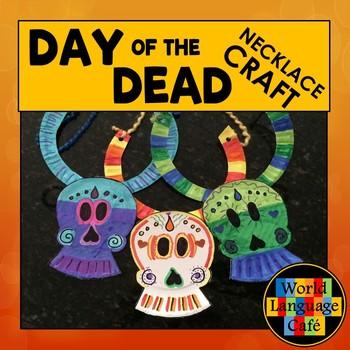 Day of the Dead, Día de los Muertos Craft, Craftivity Skul